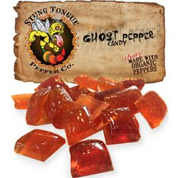 Stung Tongue Ghost Pepper Candy