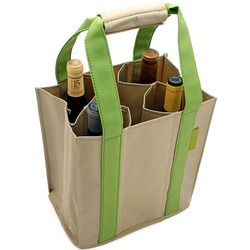 Collapsible Wine Bottle Party Tote