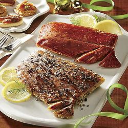 Sockeye and Pepper Garlic Salmon Gift Tin