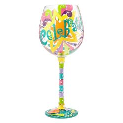 Celebrate Super Bling Wine Glass