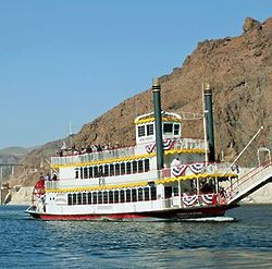 Lake Mead Paddle Wheeler Sightseeing Cruise for 1