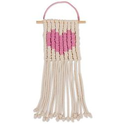 Loving Vibe in Carnation Cotton Wall Hanging