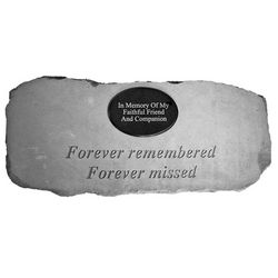 "Personalized Memorial Bench ""Forever Remembered"""