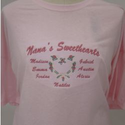 Family Sweethearts Personalized Shirt