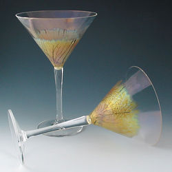 Willow Martini Glasses