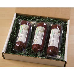 Elk Summer Sausage Gift Box