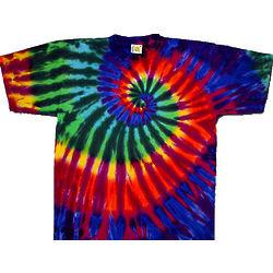 Extreme Rainbow Tie Dye T-Shirt