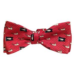 Burgee and Island Nantucket Red Bow Tie
