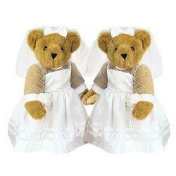 Bride and Bride Teddy Bears