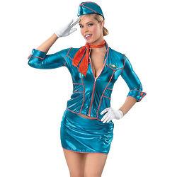 Flight Attendant Women's Costume