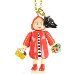 Little Red Riding Hood Long Necklace