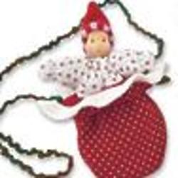 Handmade Snowflake Pixie Doll