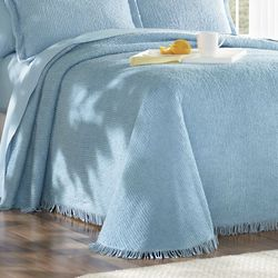 Twin Ribbed Chenille Tranquility Bedspread