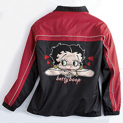 Betty Boop Windbreaker Jacket