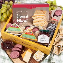 Gourmet Meat and Cheese Gift Box