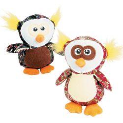 Plush Paisley Owls