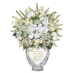 Everlasting Love Illuminated Personalized Table Centerpiece