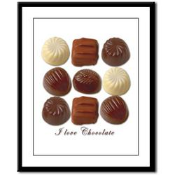 Chocolate Lover Framed Print