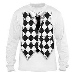 Harlequin Vest Long Sleeve T-Shirt