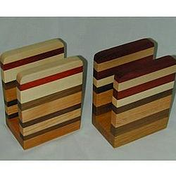 Hardwood Napkin or Letter Holder