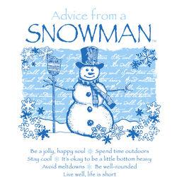 Advice From a Snowman Sweatshirt