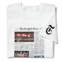 New York Times Reprint T-Shirt