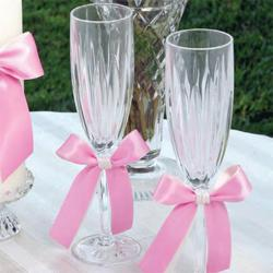 Custom Color Toasting Flutes