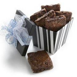 Chocolate Fudge Brownies Gift Box
