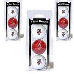 Bucky Badger Logo Golf Balls