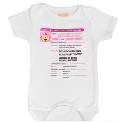 Social Girl Babybook Snapsuit