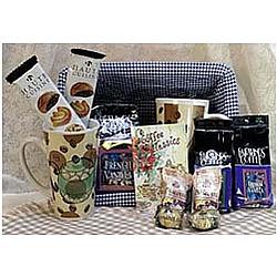 Coffee Drinkers Dream Gift Basket