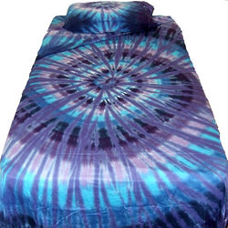 Twilight Spiral Tie Dye Sheets