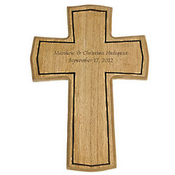 Personalized Wooden Cross