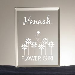 Flower Girl Keepsake Plaque