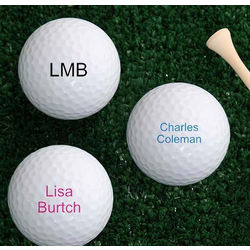 Personalized Your Message Nike Mojo Golf Balls