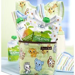 Baby on the Go Chibi Zoo Bottle Bag Gift Set
