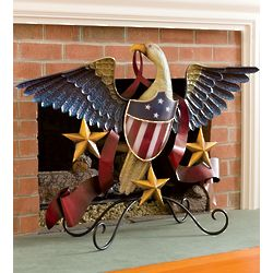 American Eagle Fireplace Screen and Wall Art