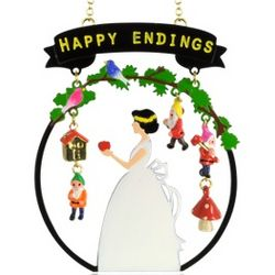 Snow White Happy Endings Long Necklace