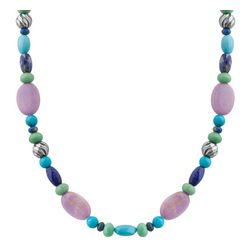 Rainbow Falls Pastel Beaded Necklace