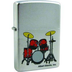 Drum Set Zippo Lighter