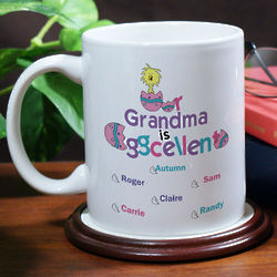 Personalized Eggcellent Coffee Mug