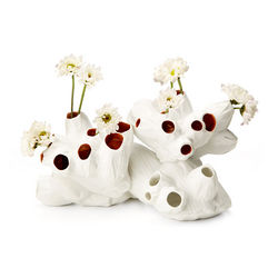 Porcelain Barnacle Vase