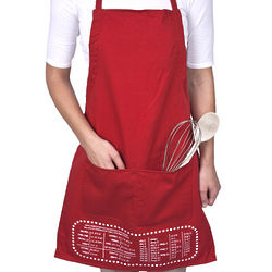 Smart Baker Red Cheat Sheet Apron