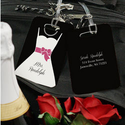 Bride or Groom Wedding Bag Tag