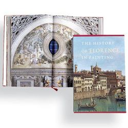 The History of Florence in Painting Book