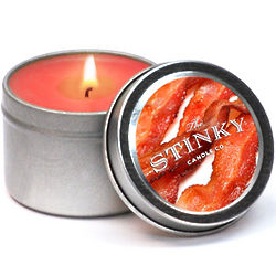 Bacon Scented Candle Tin