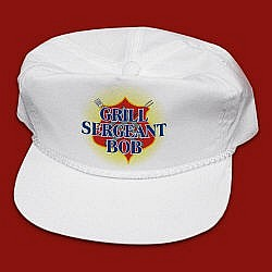 Personalized Grill Sergeant BBQ Hat