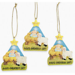 God's Greatest Gift Ornaments