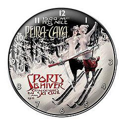 Peira-Cava Ski Clock