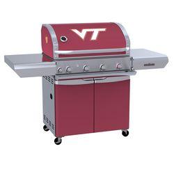 Virginia Tech Hokies Team Grill Patio Series MVP Gas Grill